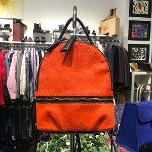 ZARA FUR MINI BACKPACK!